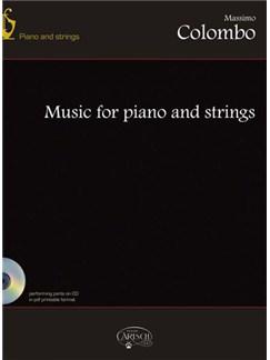 Massimo Colombo: Music for Piano & String+CD Libro | Música de Cámara