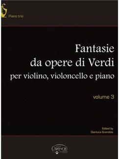 Giuseppe Verdi: Fantasie da Opere di Verdi Books | Cello, Piano
