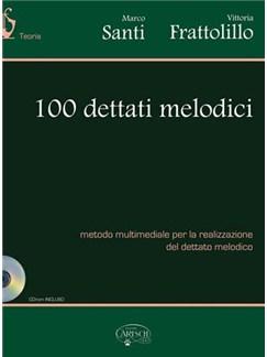 100 Dettati Melodici Books and CDs | All Instruments