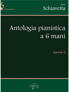 Antologia Pianistica a 6 Mani, Volume 3 Books | Piano