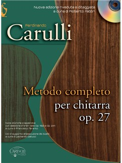 Ferdinando Carulli: Metodo Completo Per Chitarra, Op.27 (Book/CD) Books and CDs | Guitar