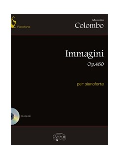 Colombo Immagini Op480 Pf Bk/Cd Books and CDs   Piano