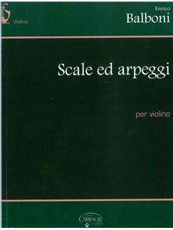 Enrico Balboni: Scale Ed Arpeggi Per Violino Books   Violin