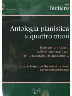 Elena Buttiero: Piano Antologia A Quattro Mani Books | Piano Duet