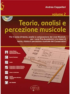 Andrea Cappellari: Teoria, Analisi E Percezione Musicale (Book/CD) Books and CDs | Drums