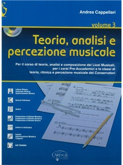 Andrea Cappellari: Teoria Analisi E Percezione Musicale (Libro/CD) Books and CDs |