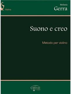 Suono e Creo, Metodo per Violino Books   Violin