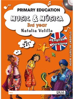Music &  Musica, Volumen 3 (Student Activity Book) DVDs / Videos y Libro | Todos Instrumentos