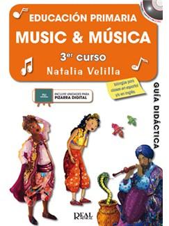 Music & Musica, Volumen 3 (Profesor) CD y Libro | All Instruments