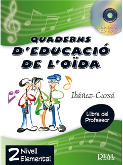 Quaderns d'Educació de l'Oïda, Vol.2 - Nivell Elemental (Llibre del Professor) CD y Libro | Todos Instrumentos