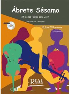 Abrete Sésamo (25 Piezas Fáciles para violín) CD y Libro | Violin
