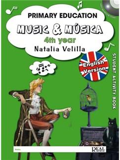 Music &  Música, Volumen 4 (Student Activity Book) DVDs / Videos y Libro | Todos Instrumentos