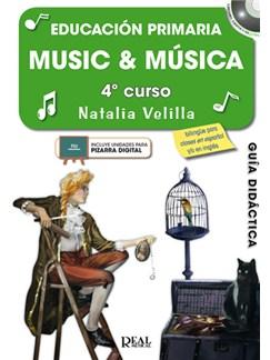 Music &  Música, Volumen 4 (Profesor) CD y Libro | All Instruments