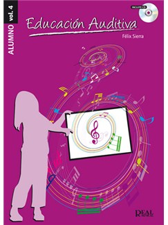 Educación Auditiva, Vol.4 (Alumno Grado Elemental) CD y Libro | All Instruments