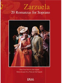 Zarzuela: 20 Romanzas for Soprano Books | Piano & Vocal