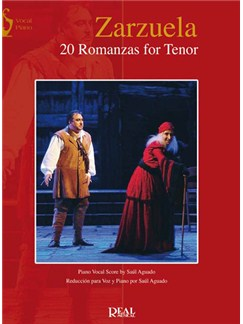Zarzuela: 20 Romanzas for Tenor Books | Piano & Vocal