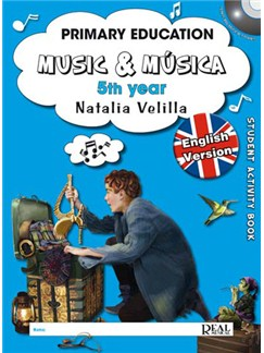 Music & Música Volumen 5 (Student Activity Book) Books and DVDs / Videos | All Instruments