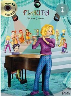 Flauta Vol.1 Books and CDs | Flute