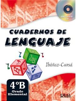 Cuadernos de Lenguaje 4B,  (Grado Elemental - Nueva Edición) CD y Libro | All Instruments