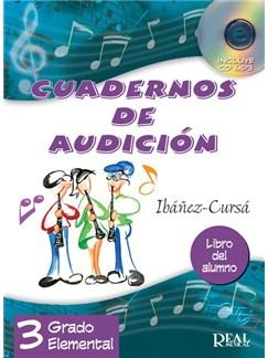 Cuadernos de Audición, 3 Grado Elemental (Libro del Alumno) - Nueva edición CD y Libro |
