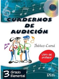 Cuadernos de Audición, 3 Grado Elemental (Libro del Profesor) - Nueva edición CD y Libro |