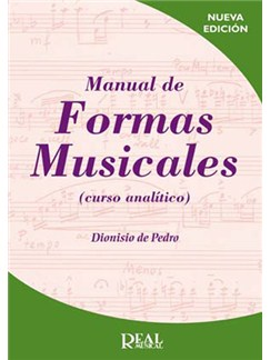 Manual de Formas Musicales (Curso analítico) Libro | All Instruments