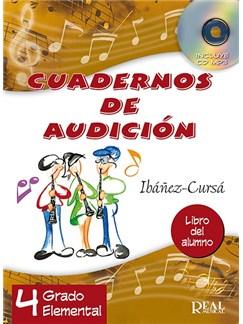 Cuadernos de Audición, 4 Grado Elemental (Libro del Alumno) CD y Libro |