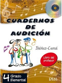 Cuadernos de Audición, 4 Grado Elemental (Libro del Profesor) CD y Libro |