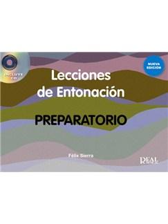 Lecciones de Entonación, Preparatorio (Nueva edición con CD) CD y Libro | Piano