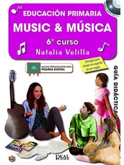 Music & Música: Vol. 6 Guía Didáctica (Book/2 CDs) Books and CDs |