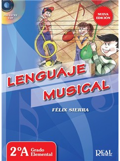 Félix Sierra: Lenguaje Musical - 2A Grado Elemental (Book/CD) CD y Libro |