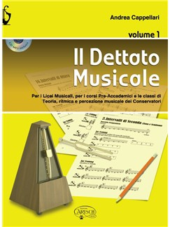 Andrea Cappellari: Il Dettato Musicale (Volume 1) Books and CDs |