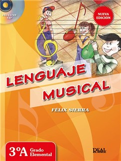 Felix Sierra: Lenguaje Musical 3A (Libro/CD) CD y Libro | Todos Instrumentos