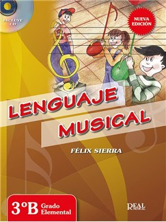 Felix Sierra: Lenguaje Musical 3B (Libro/CD) Books and CDs |