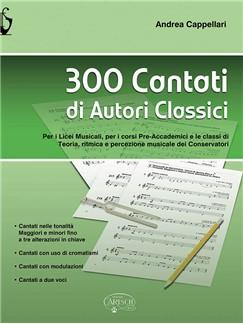 Andrea Cappellari: 300 Cantati Di Autori Classici Books  
