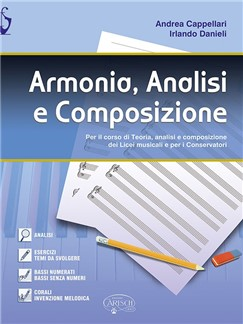 Andrea Cappellari/Irlando Danieli: Armonia, Analisi E Composizione Books |