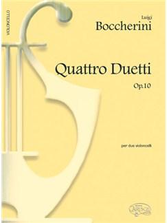 Luigi Boccherini: 4 Duetti Op.10, per 2 Violoncelli Books   Cello