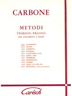 Carbone: Metodo Teorico-Pratico per Clarinetto Books | Clarinet