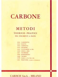 Carbone: Metodo Teorico-Pratico per Tromba Books | Trumpet