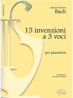 J.S. Bach: 15 Invenzioni a 3 Voci, per Pianoforte Books | Piano