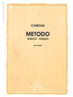 Carbone: Metodo Teorico-Pratico per Basso Books | Big Band & Concert Band