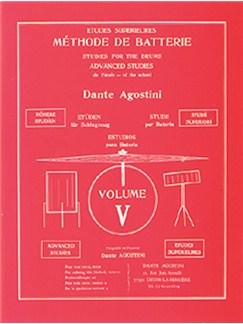 Méthode de Batterie, Volume 5 : Études Supérieures Books | Drums