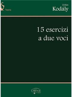 15 Esercizi a due voci Books | All Instruments