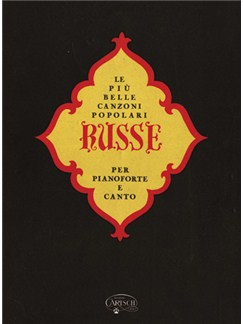 Le Più Belle Canzoni Popolari Russe Books | Piano, Vocal & Guitar