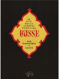 Le Più Belle Canzoni Popolari Russe Livre | Piano et Chant