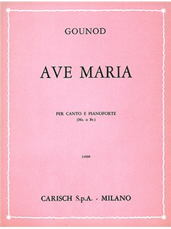 Charles Gounod: Ave Maria, for Mezzo-Soprano or Baritono Books | Mezzo-Soprano, Baritone Voice