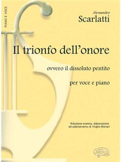 Scarlatti Trionfo Dellonore Vce/Pf Books |