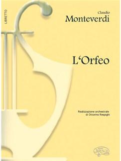Claudio Monteverdi: L'Orfeo (Libretto) Books | Libretto