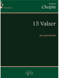 Fryderyk Chopin: 15 Valzer, per Pianoforte Books | Piano