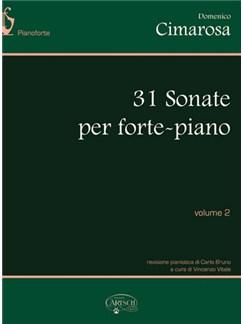 Domenico Cimarosa: 31 Sonate per Forte-Piano, Volume 2 Books | Piano